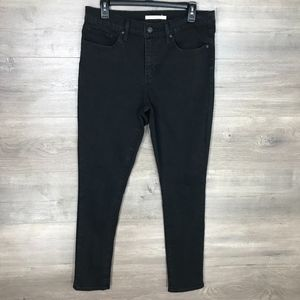 Levi's Womens Jeans 311 Shaping Skinny Black Wash